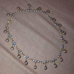 Beautiful PD Crown Silver necklace
